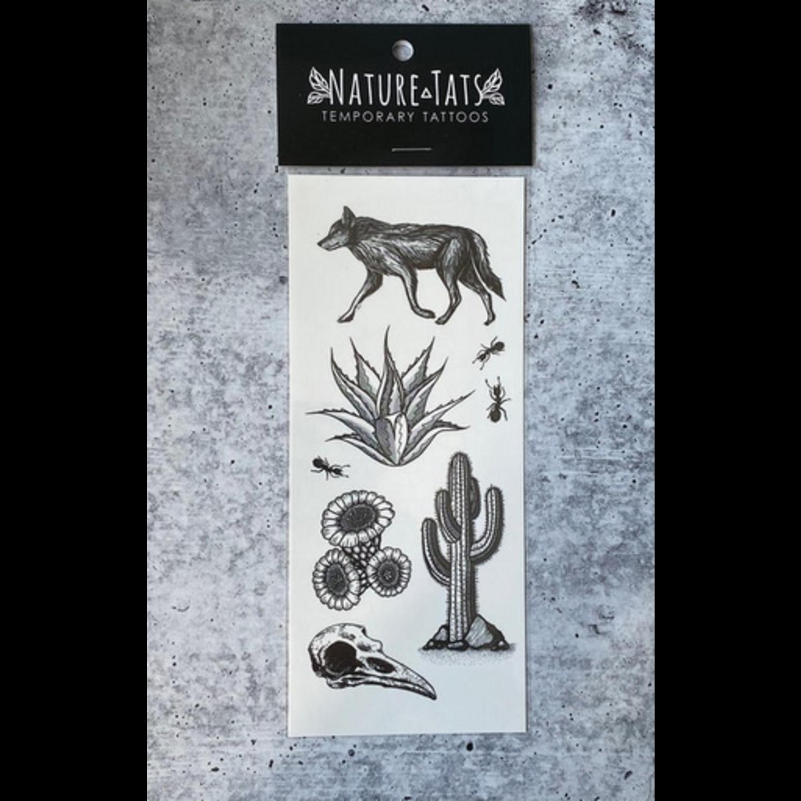 NatureTats Creature Temporary Tattoos