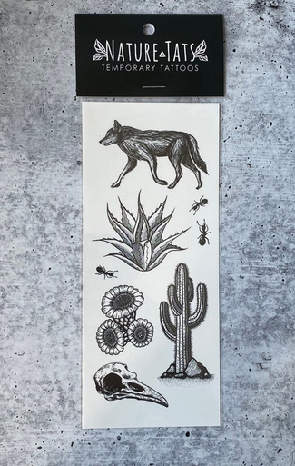 NatureTats Creature Temporary Tattoos