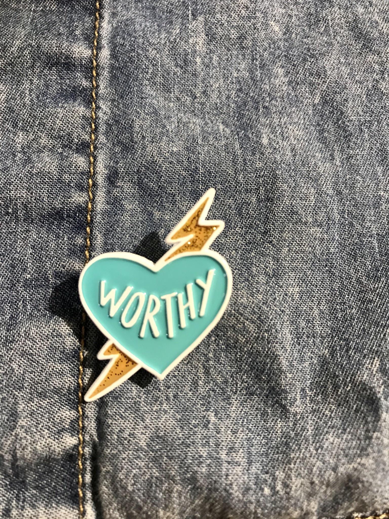 Band of Weirdos / Moss Love *Worthy Enamel Pin