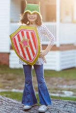 Lovelane Orange + Pink Hero Shield