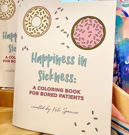 Colette Paperie Happiness In Sickness: A Coloring Book For Bored Patients