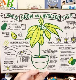 Big Wheel Press Grow An Avocado Tree Print