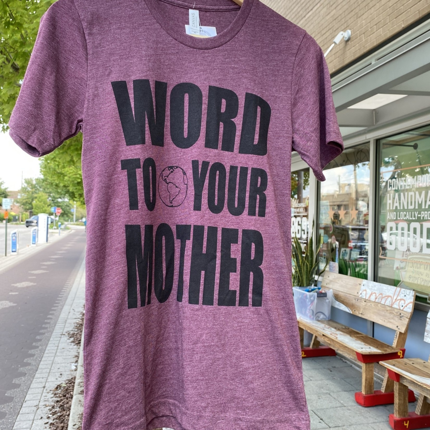 Fresh Camp Word To Your Mother (Earth) Tee