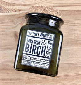 JKM Soy Candles AC: Barn Wood & Birch Soy Candle