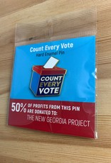 Dissent Pins Count Every Vote Enamel Pin