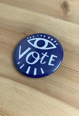 Lettie Jane Rennekamp Eye Vote Pinback Button