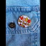 Larissa Loden Vote For Fuck's Sake Enamel Pin
