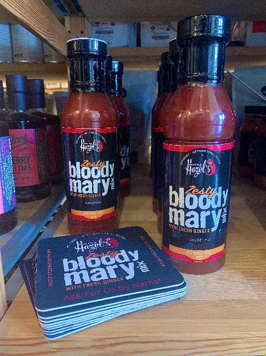 Amazing Hazel's Zesty Bloody Mary Mix 12oz. Bottle