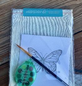 Color Box Design & Letterpress Mini Paint Palette Watercolor Kit