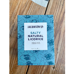 Jacobsen Salt Co. Salty Natural Licorice 6.5oz Box