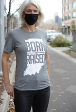 Originalitees Born & Raised Indiana Tee