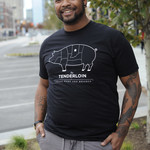 United State of Indiana Tenderloin Born & Breaded Tee