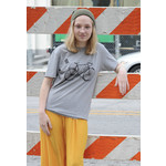 United State of Indiana Ride Indiana Grey Tee