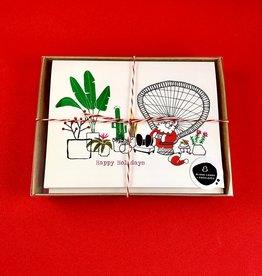 An Open Sketchbook Box Set: Santa's Nook Greeting Card