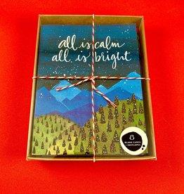 An Open Sketchbook Box Set: Calm & Bright Greeting Card