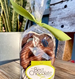The Best Chocolate In Town Chocolate Covered Pretzel 6pc. Bag