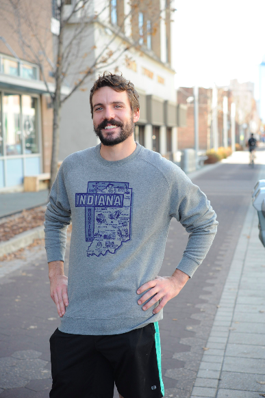 Terz Ink Indiana: Hoosier State Sweatshirt