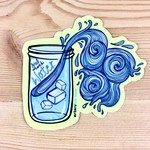Artery Ink (LO) Artery Ink Reminder Stickers Drink More Water