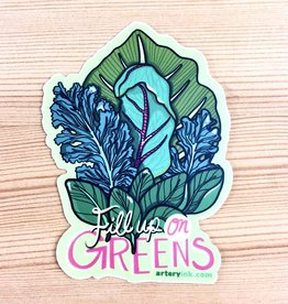 Artery Ink Artery Ink Reminder Stickers Fill Up On Greens