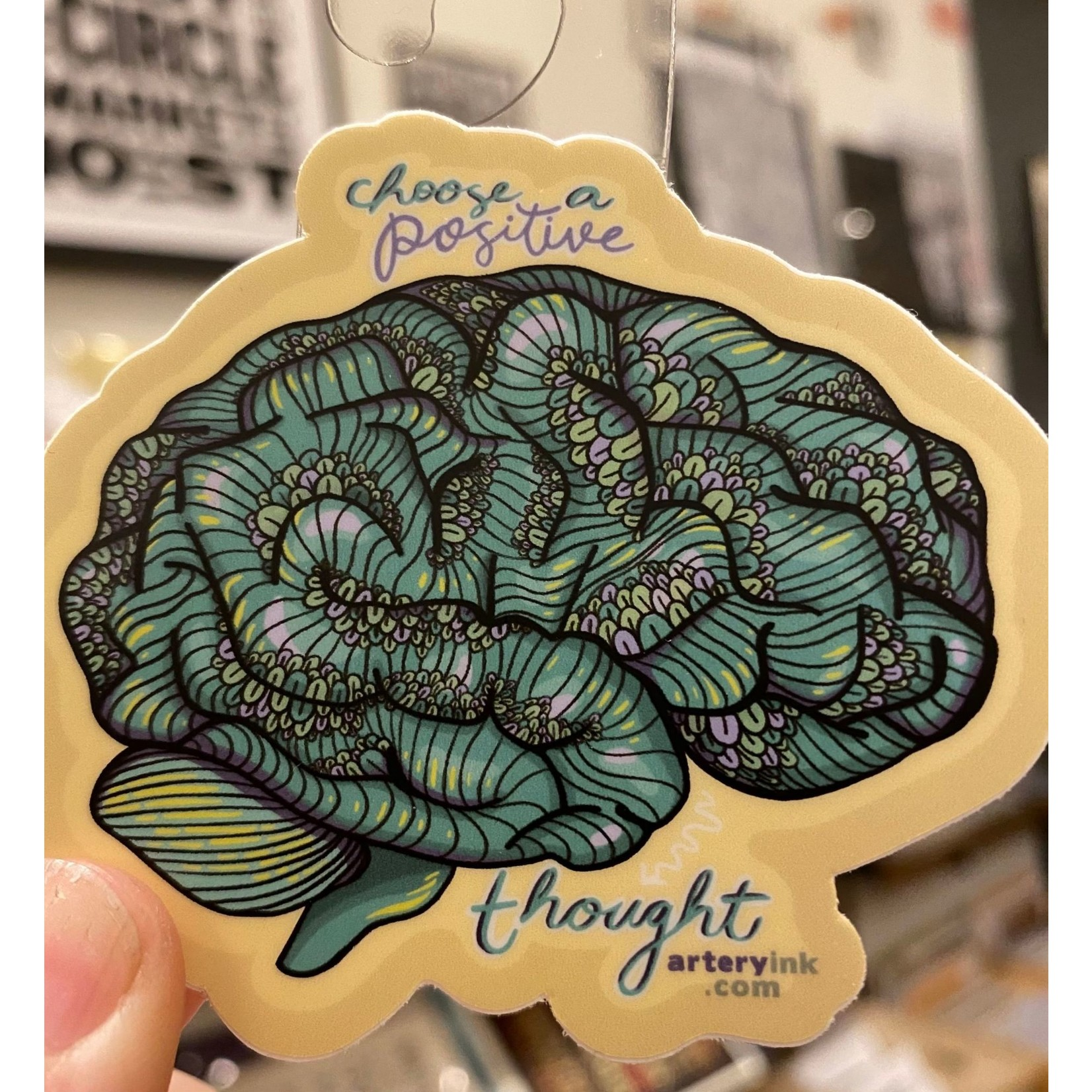Artery Ink (LO) Artery Ink Reminder Stickers Positive Thought