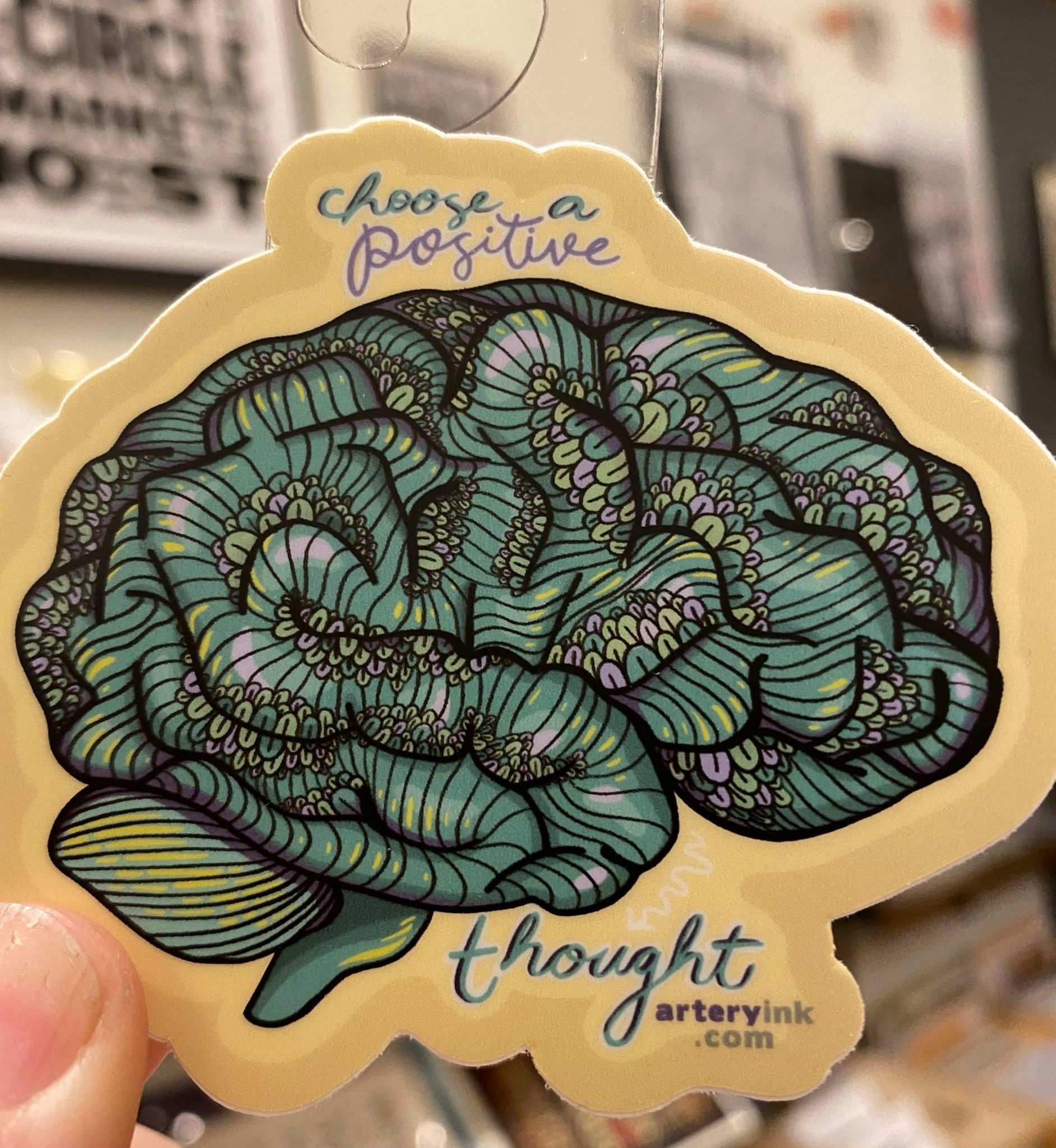 Artery Ink Artery Ink Reminder Stickers Positive Thought
