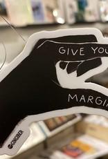 Gingiber Give Yourself Margin Hand Sticker