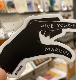 Gingiber Give Yourself Margin Hand Sticker