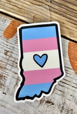 Jean Elise Designs Indiana Cause Sticker