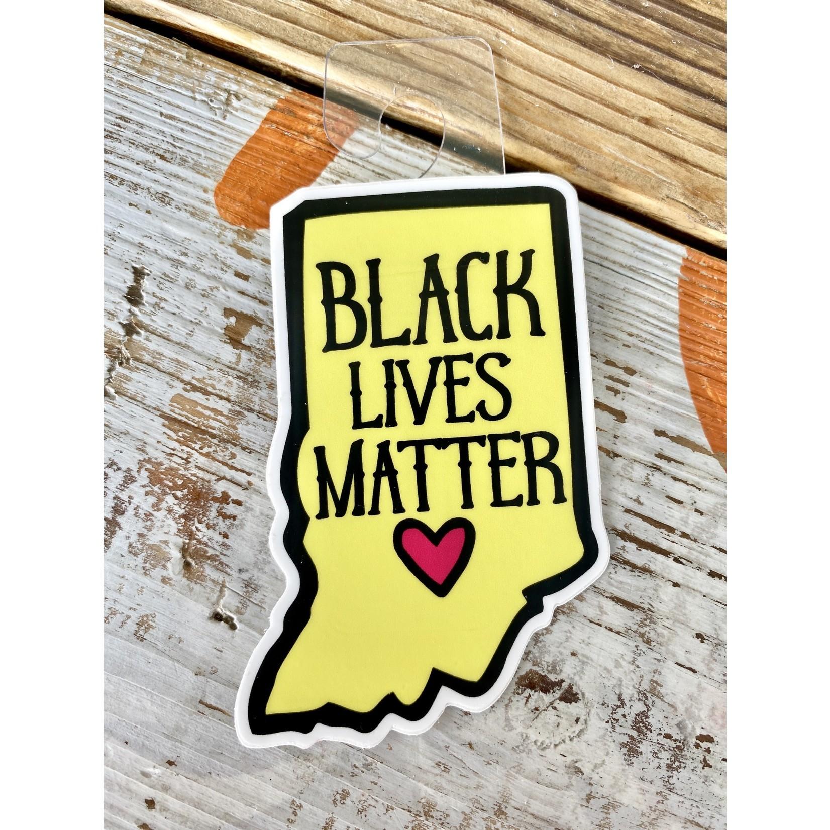 Jean Elise Designs Indiana Cause Sticker