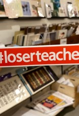 BadKneesTs #loserteacher Sticker