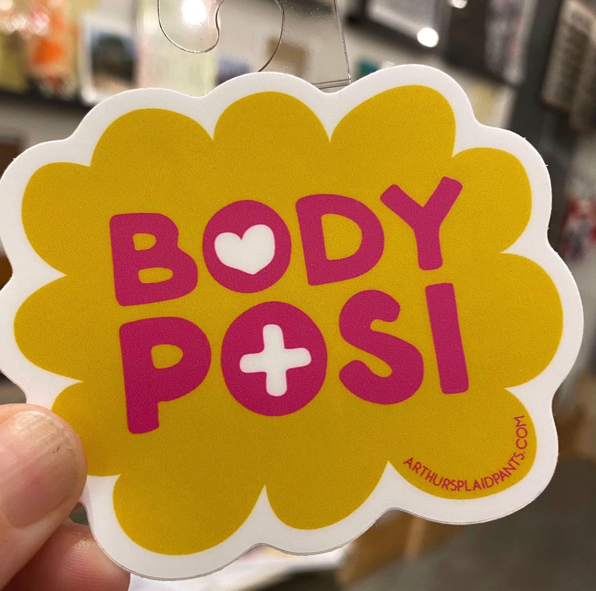 Arthur's Plaid Pants Body Posi Sticker