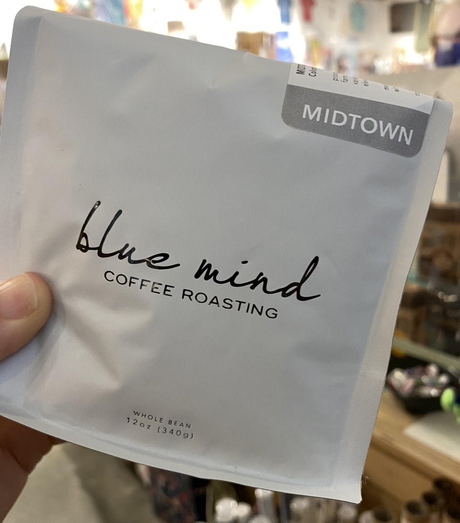 Blue Mind Roasting Whole Bean Coffee 12oz. Bags