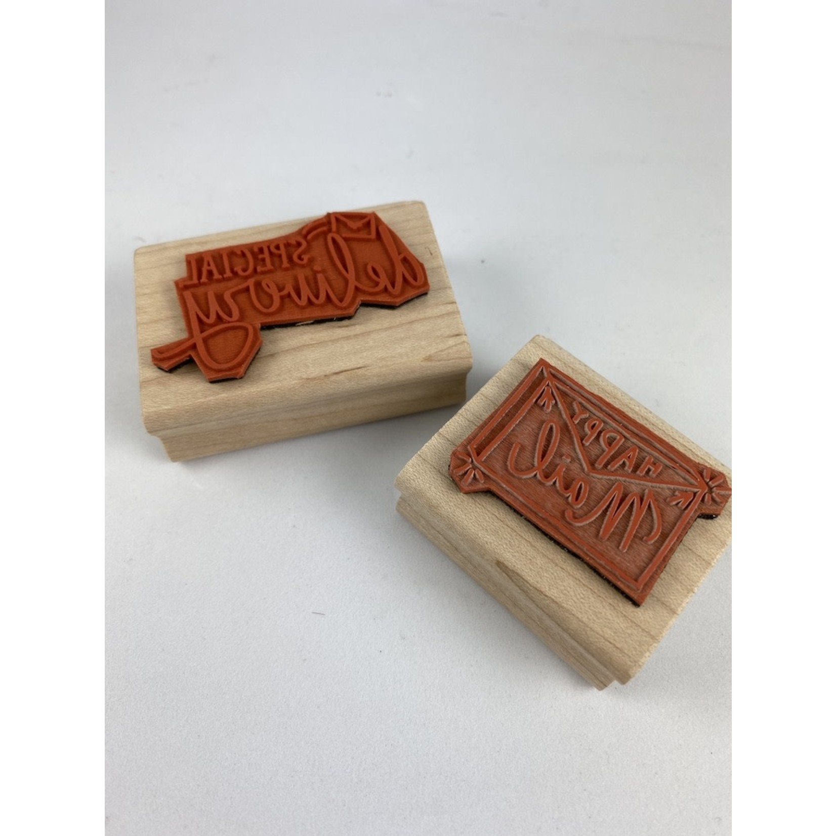 """Paper Sushi """"Special Delivery"""" Rubber Stamp"""