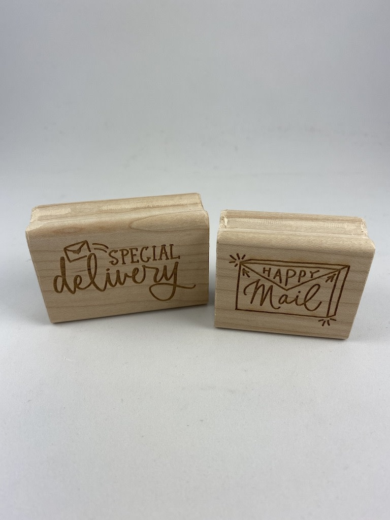 "Paper Sushi ""Happy Mail"" Rubber Stamp"