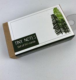 Corvidae Drawings & Designs Snow Bear & Trees Tiny Notecard Set