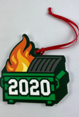 AdultingFTW Dumpster Fire 2020 Acrylic Ornament
