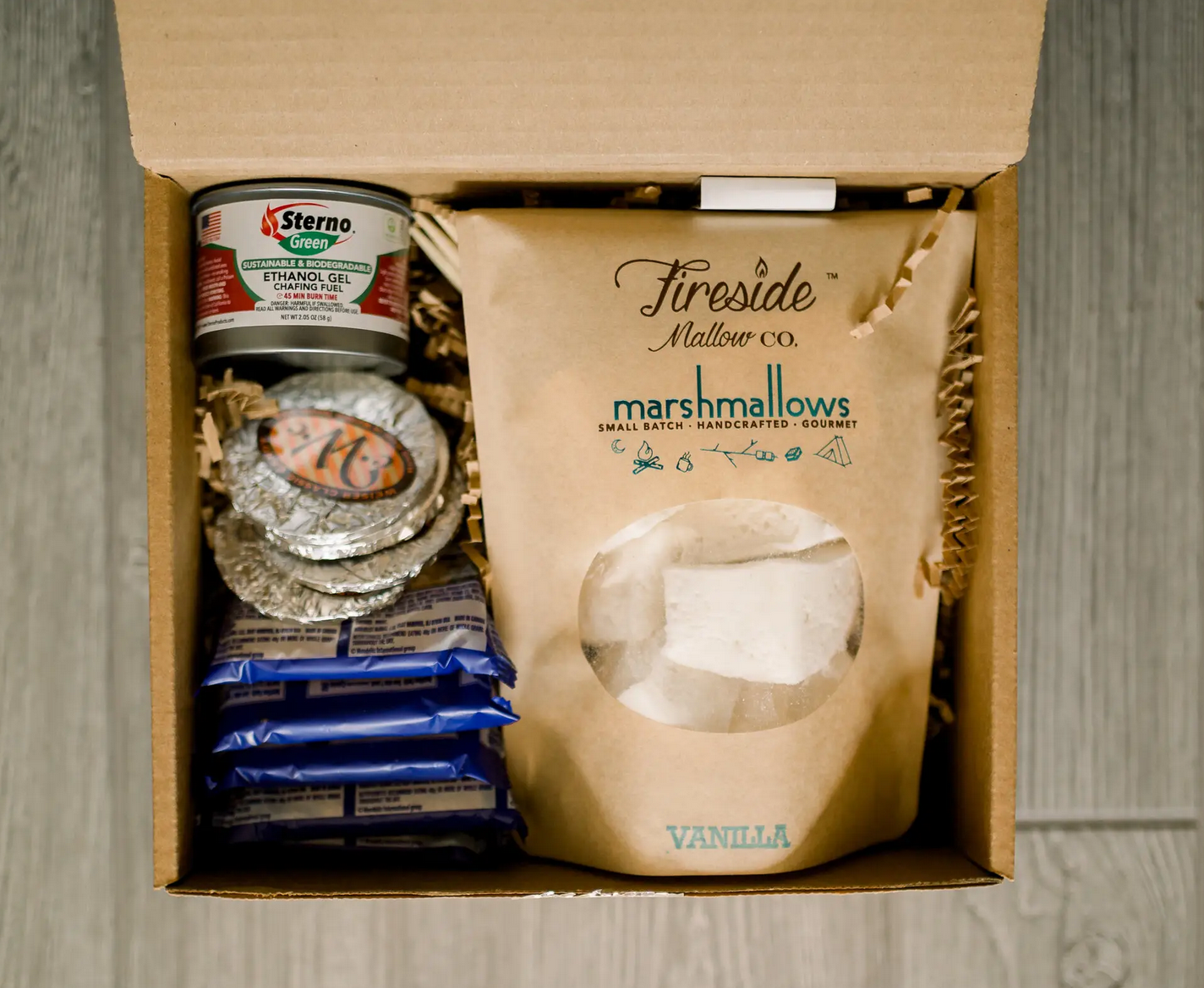 Creekside Mallow Co. / Fireside Mallow Co. Gourmet S'Mores To-Go Kit