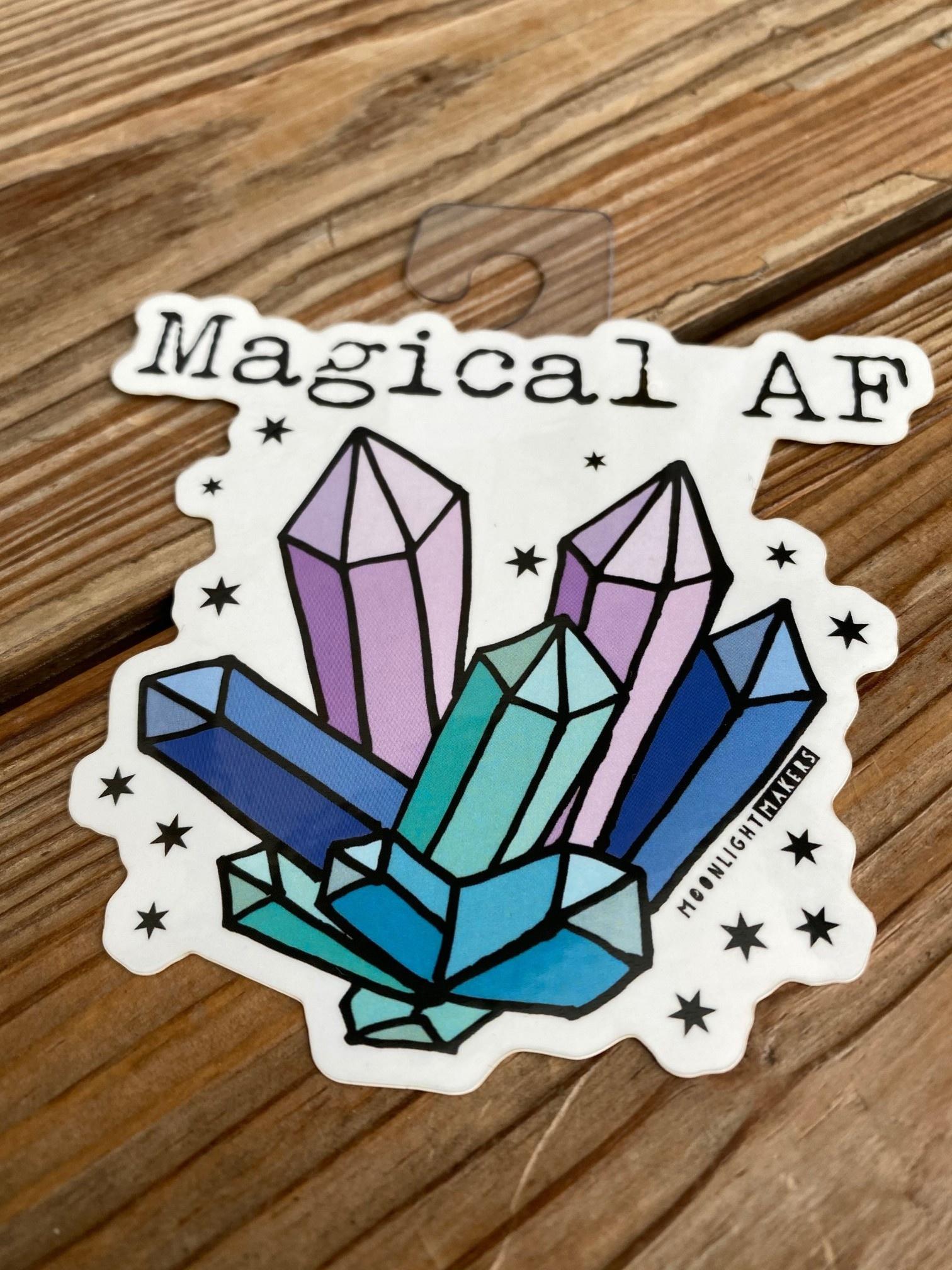 Moonlight Makers Magical AF Crystal Sticker