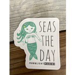 Moonlight Makers Seas The Day Mermaid Sticker