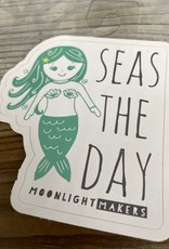 Moonlight Makers Seas The Day Mermaid Sticker