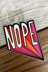 Free Period Press NOPE Vinyl Sticker