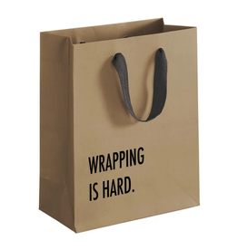 Pretty Alright Goods Wrapping Is Hard Kraft Gift Bag