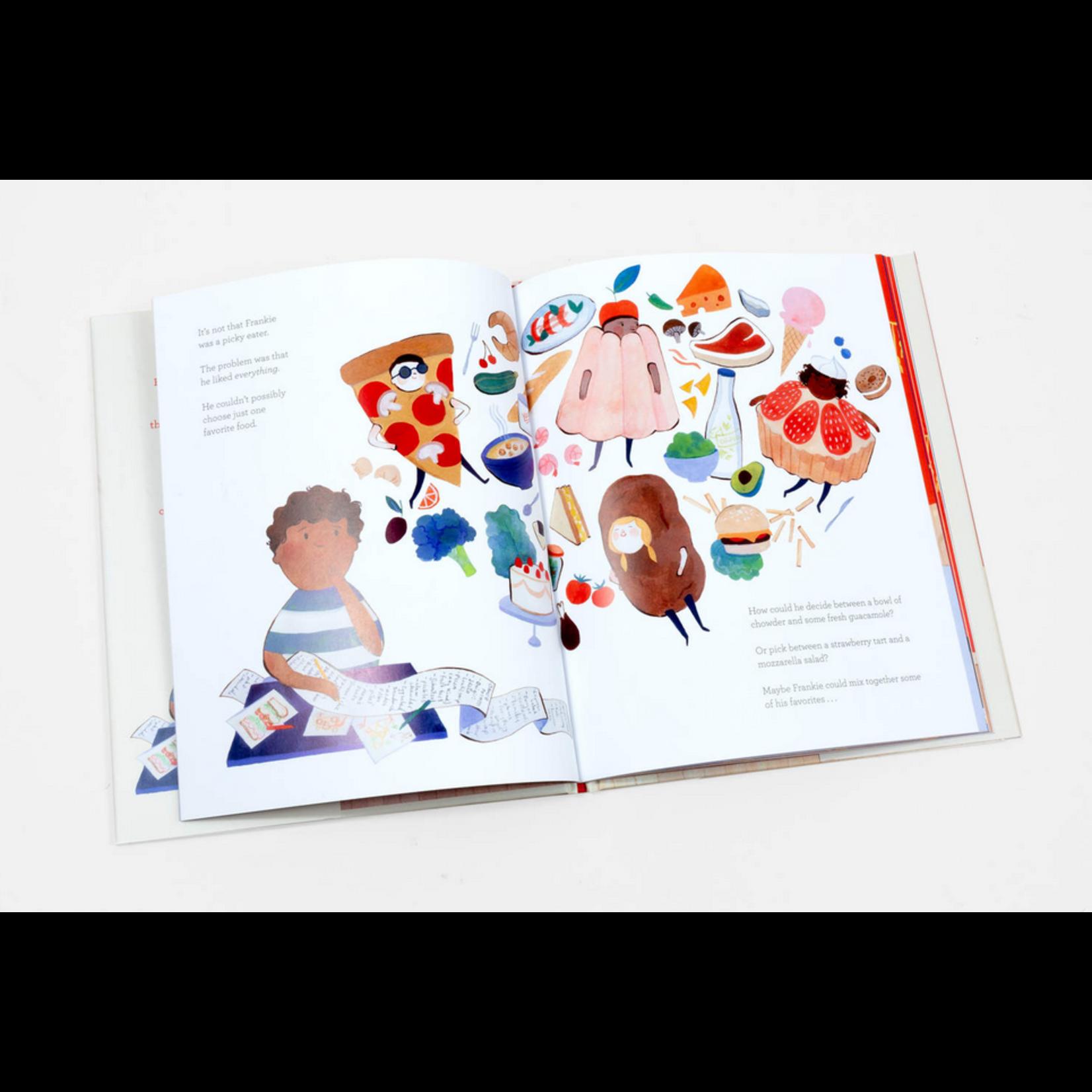 Kelsey Garrity Riley Frankie's Favorite Food Book - Kelsey Garrity Riley