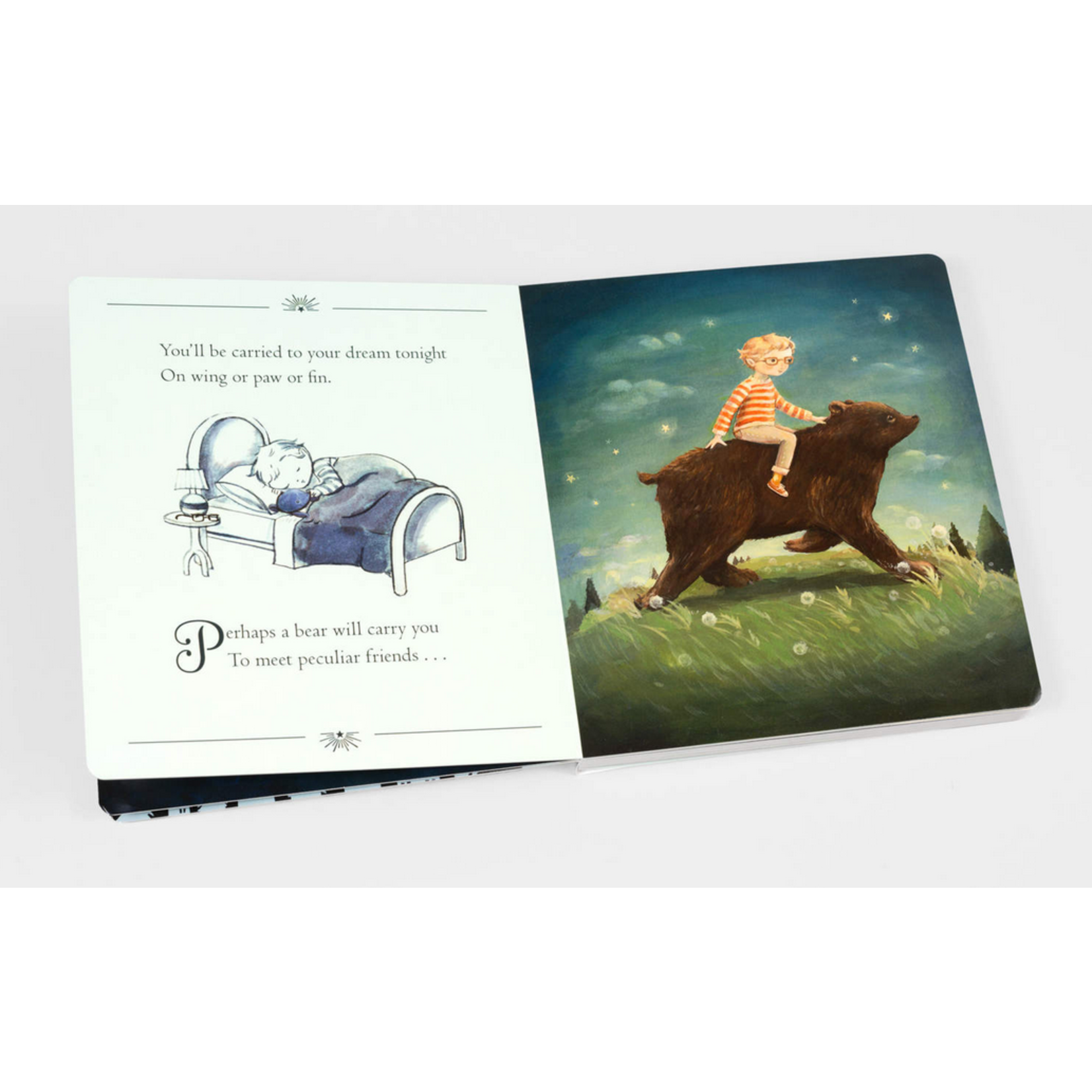The Black Apple Dream Animals: A Bedtime Journey Board Book - Emily Winfield Martin