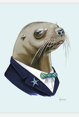 Berkley Illustration / Ryan Berkley Sea Lion Gentleman 5x7 Art Print