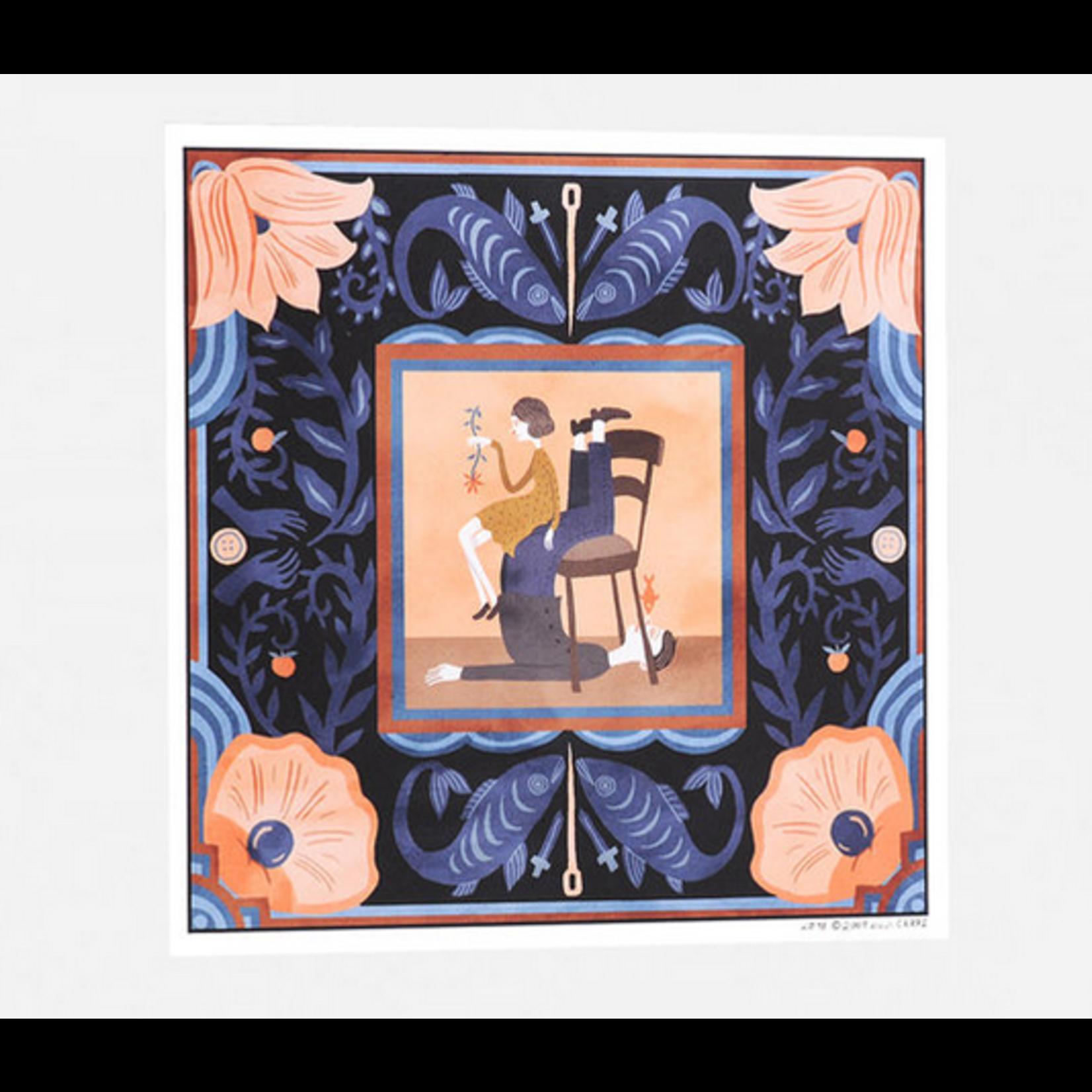 Little Otsu Nine Ways to Disappear 7x7.13 Art Print