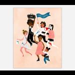 Christa Pierce Girl Gang Art Print