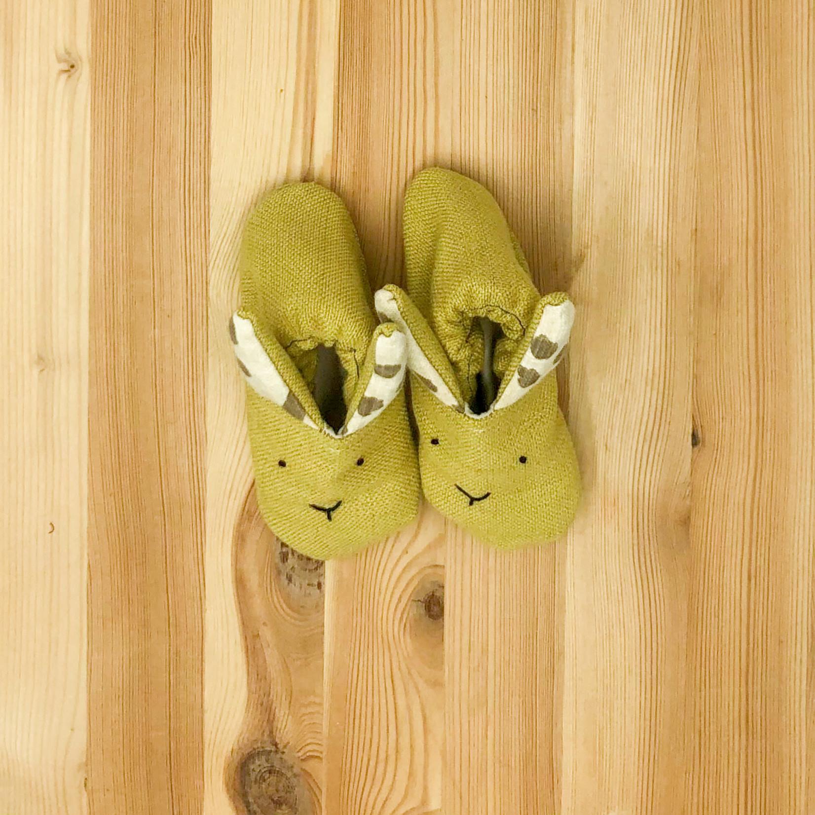 La Tiendita (LO) Baby Bunny Slippers
