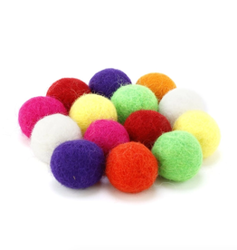 Slingshot Ammo Felt Ball 12pc. Bag