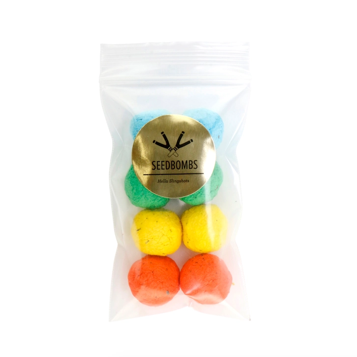 Slingshot Ammo Seed Bomb 8pc. Bag